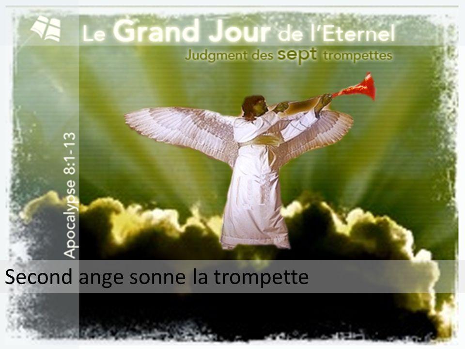 Second ange sonne la trompette