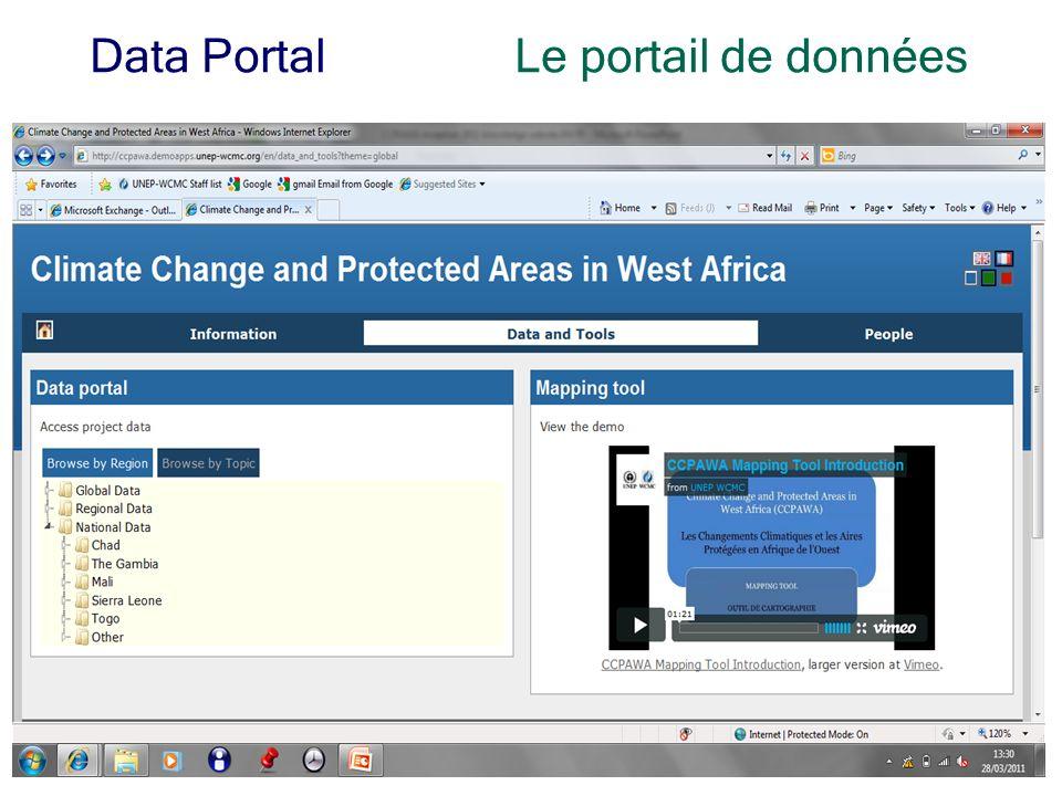 7 Data PortalLe portail de données