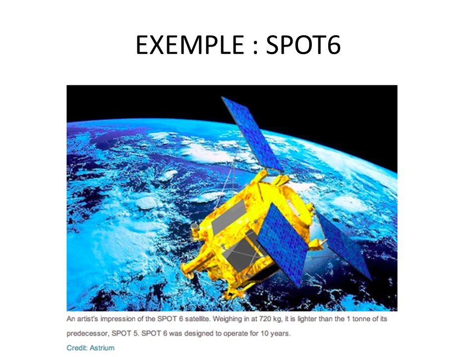 EXEMPLE : SPOT6