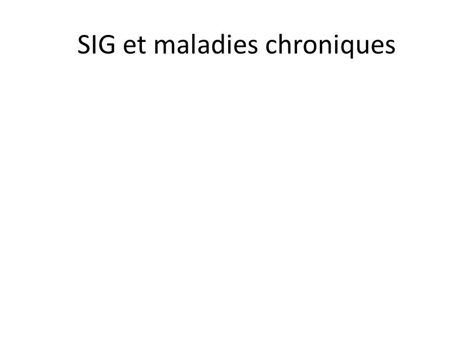 SIG et maladies chroniques