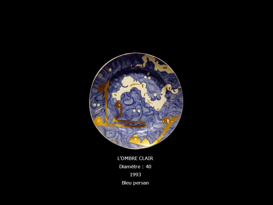 LOMBRE CLAIR Diamètre : 40 1993 Bleu persan