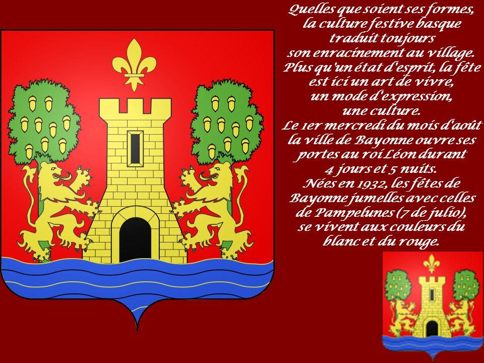 En basque, ainsi qu en gascon, Bayonne se dit Baiona Différentes interprétations ont été données à la signification du nom de Bayonne : il pourrait s agir d un augmentatif gascon du latin Baia (« vaste étendue d eau ») ou d un nom dérivé du basque bai ona (« bonne rivière »).