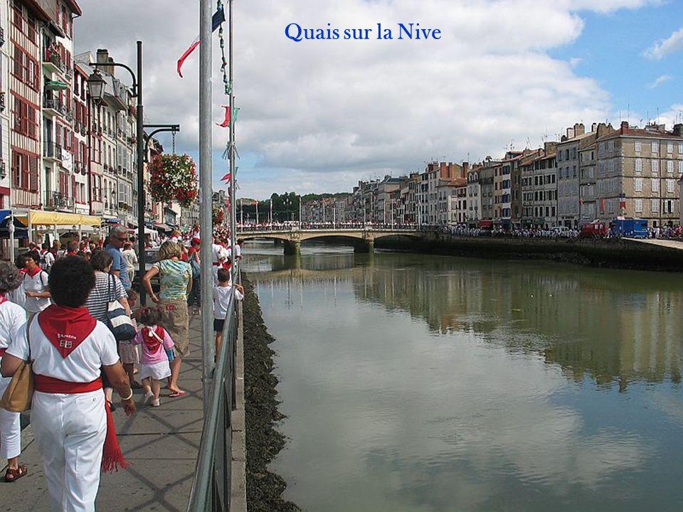 Les Halles au bord de la Nive
