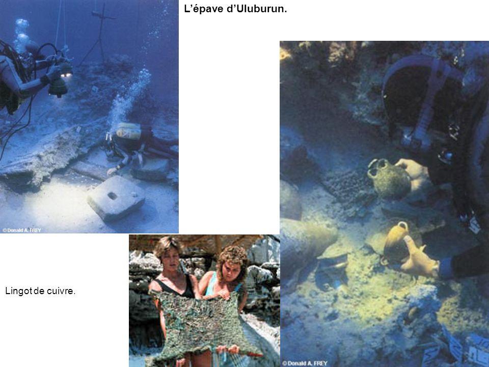 Reconstitution du navire dUluburun.