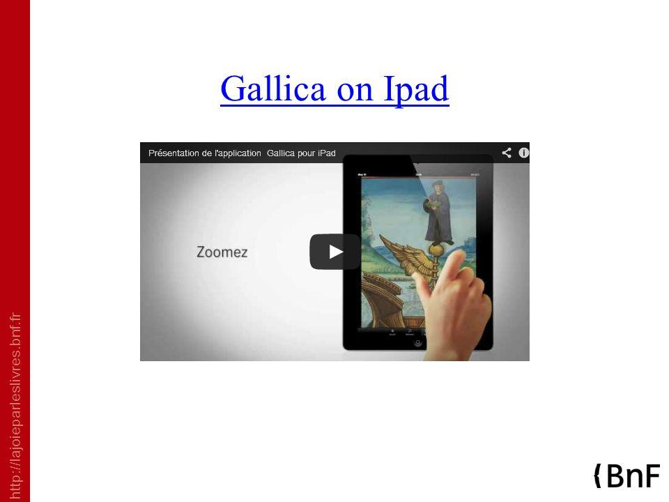 http://lajoieparleslivres.bnf.fr Gallica on Ipad