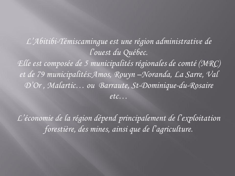 L occupation du territoire d Amos remonte à 1910 et l émission de la première charte municipale eut lieu en 1914.