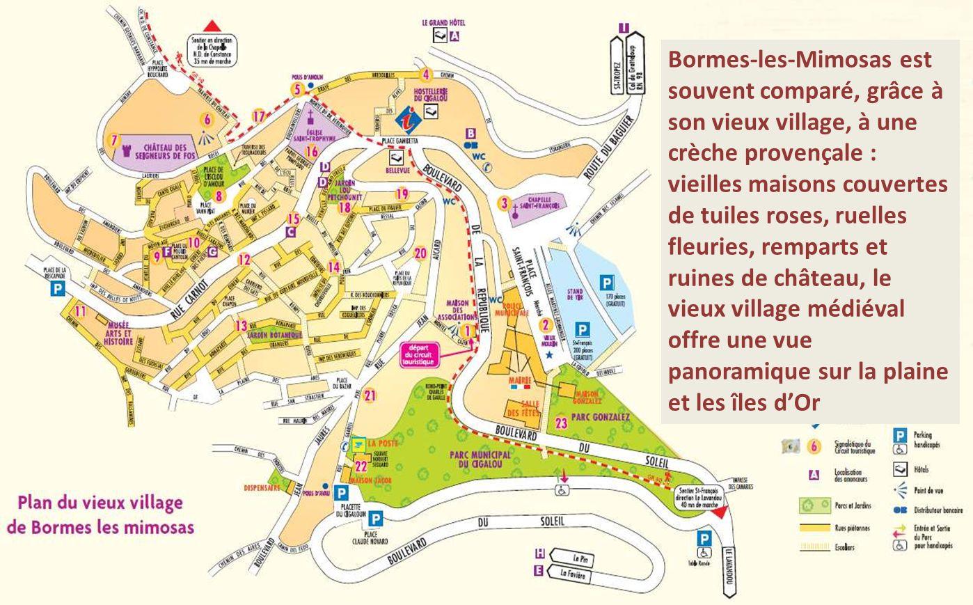 Vieux village de Bormes Les Mimosas