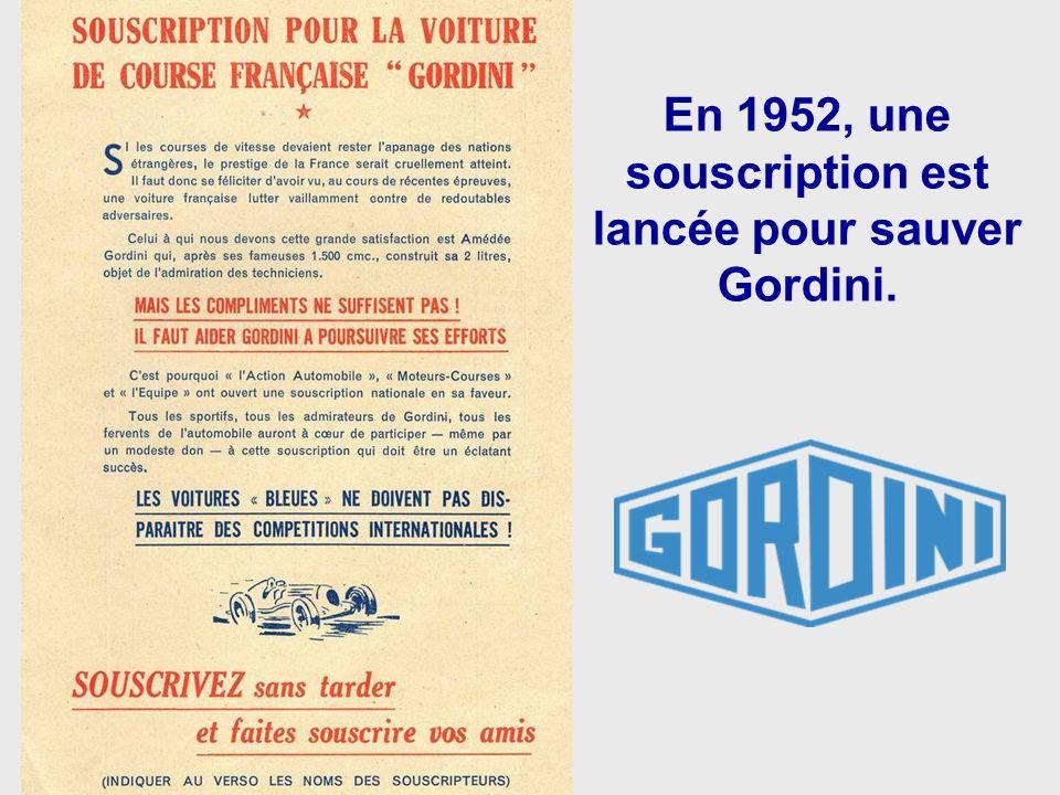 Grand Prix de la Marne 1952. Jean Behra sur Gordini vient de doubler Ascari sur Ferrari.
