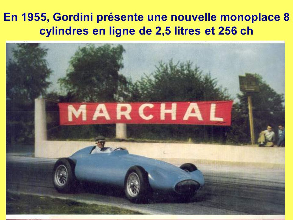Gordini Sport à la Coupe de Paris 1955