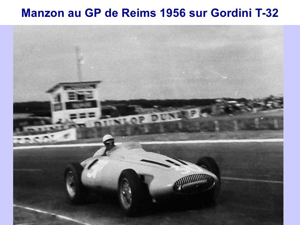 En 1955, l'Action Automobile défend encore les intérêts de Gordini