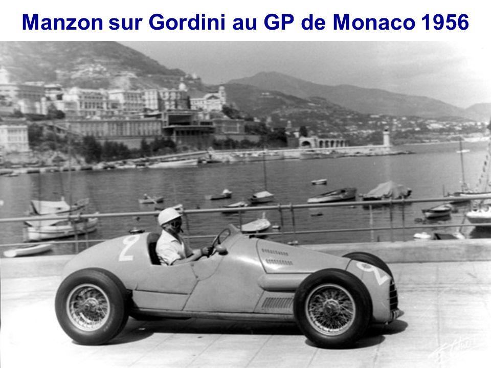 Manzon au GP de Reims 1956 sur Gordini T-32