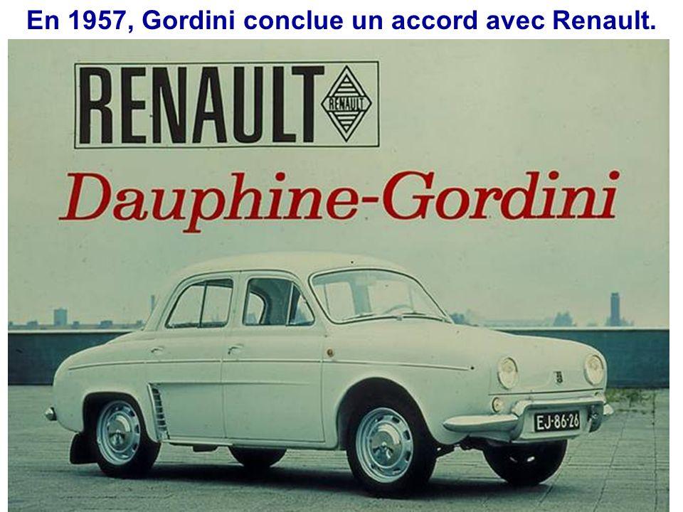 Amédée Gordini, avec la cigarette au bec et le chrono. Une photo légendaire: