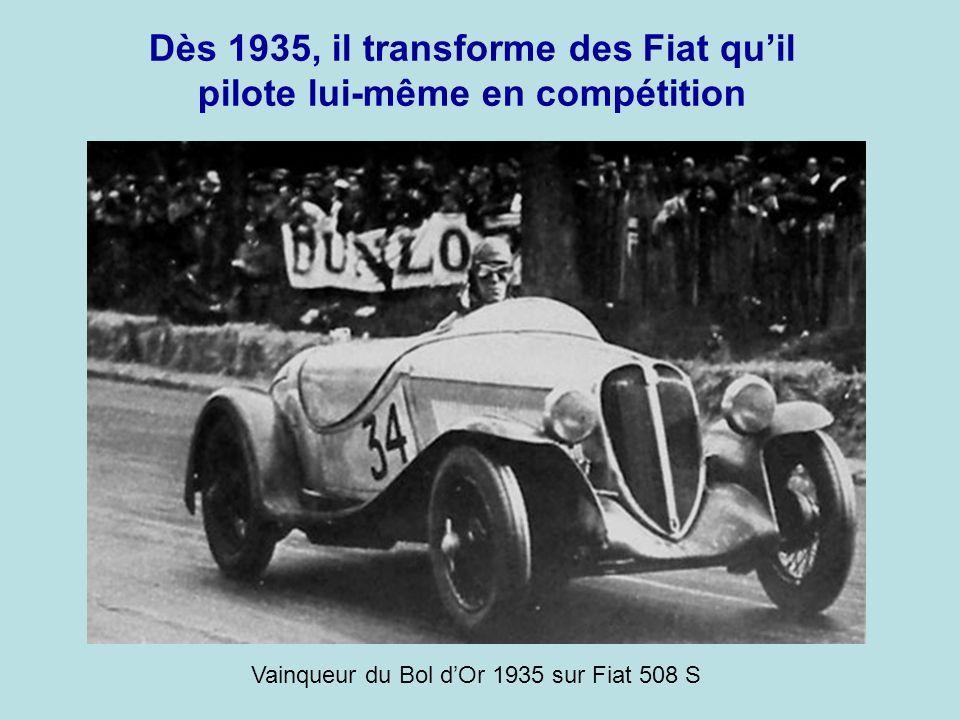 En 1926, Améde Gordini devient garagiste à Suresnes. Sa spécialité était la mise au point et l'amélioration des moteurs.