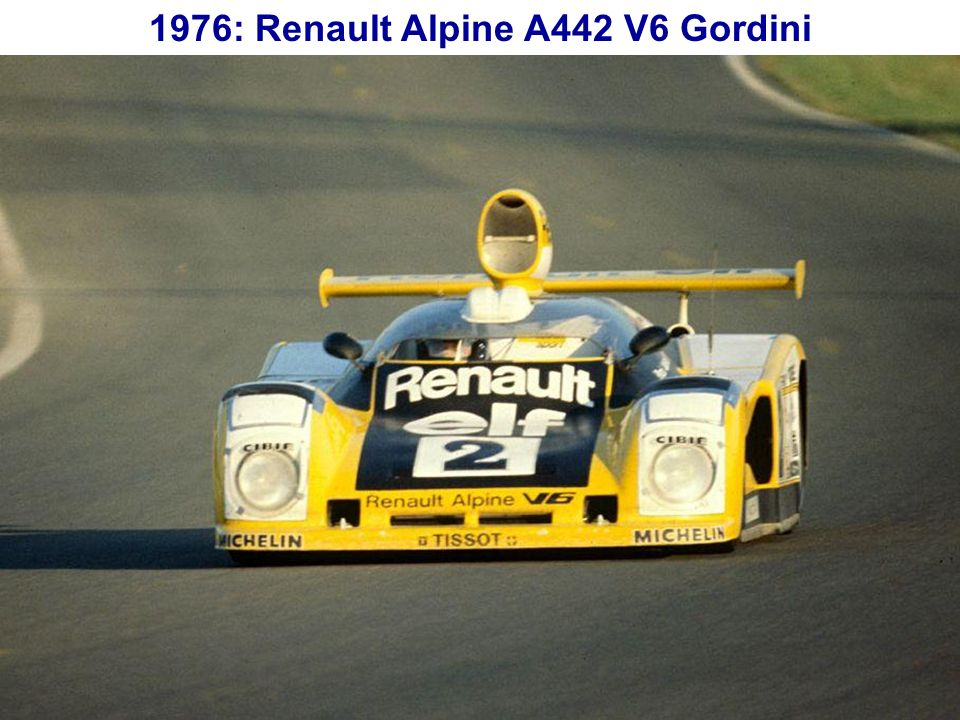 1974: La R17 Gordini 1605 cm 3, 108 ch et 185 km/h