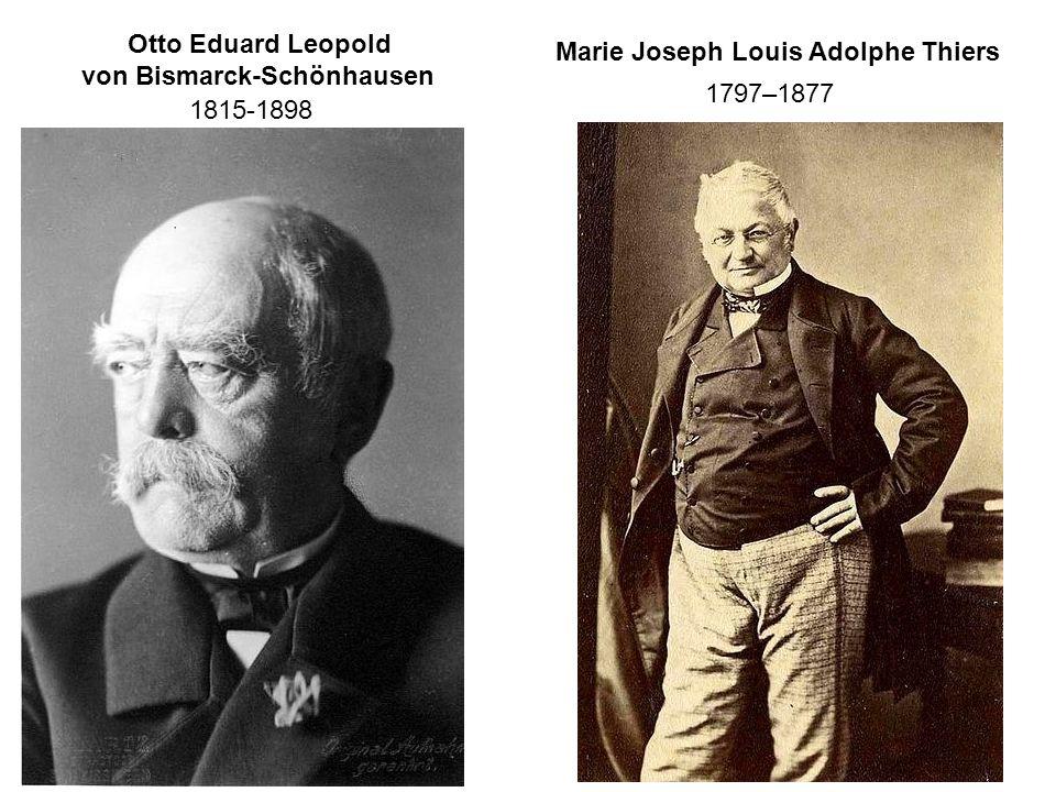 1797–1877 Otto Eduard Leopold von Bismarck-Schönhausen 1815-1898
