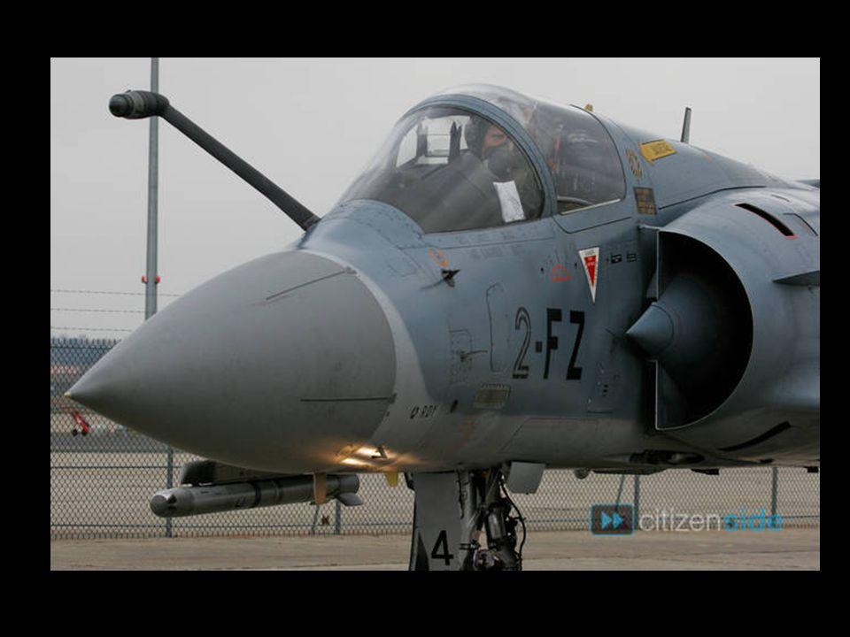 Mirage 2000-5 du commandant d'escadrille de l'Armée de l'air française Caroline Aigle
