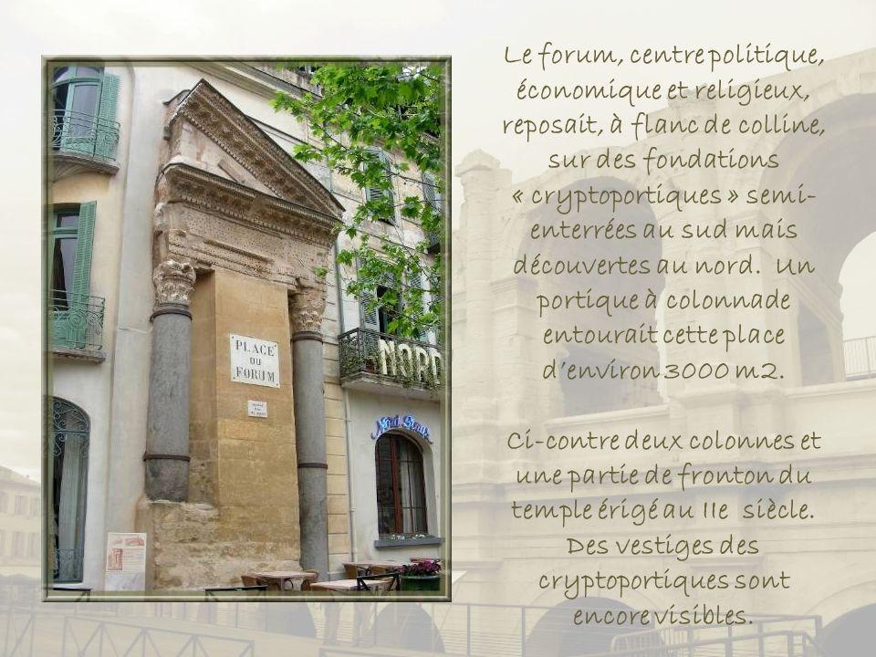 Maquette du forum, construit vers 20 av. J.-C. et complété sous Constantin au Ve siècle.