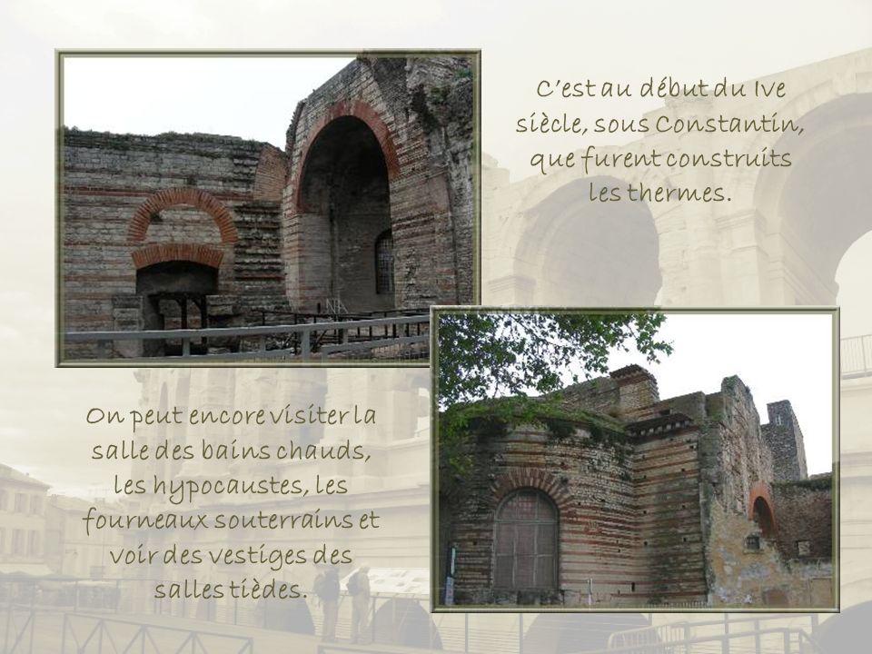 Les implantations au IVe siècle.