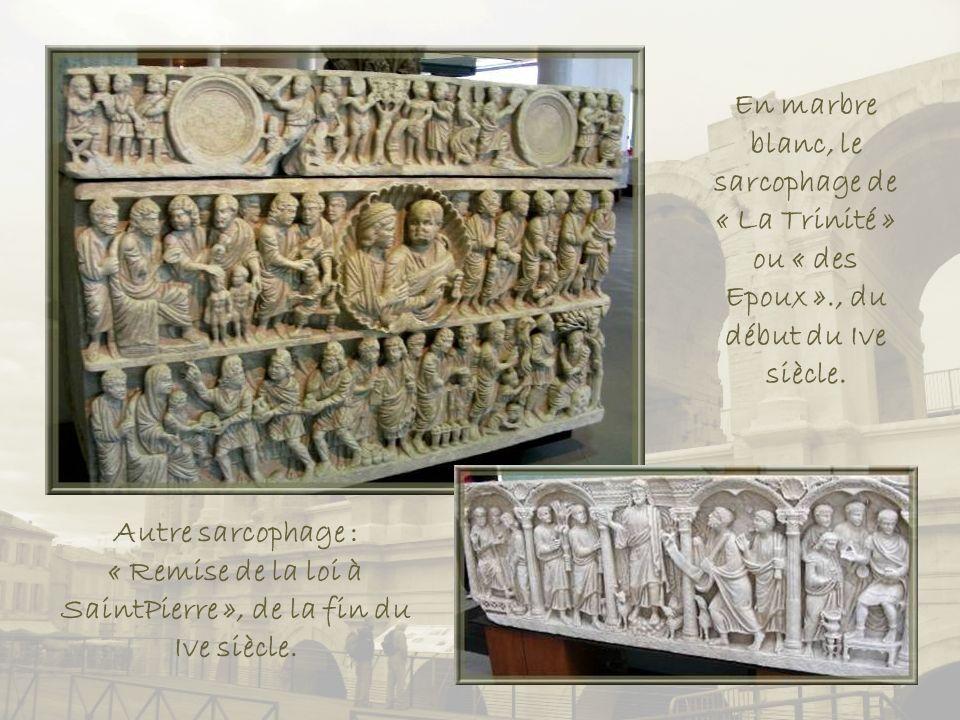 Maquette du Jardin dhiver, quartier implanté dès le début du VIe siècle av.