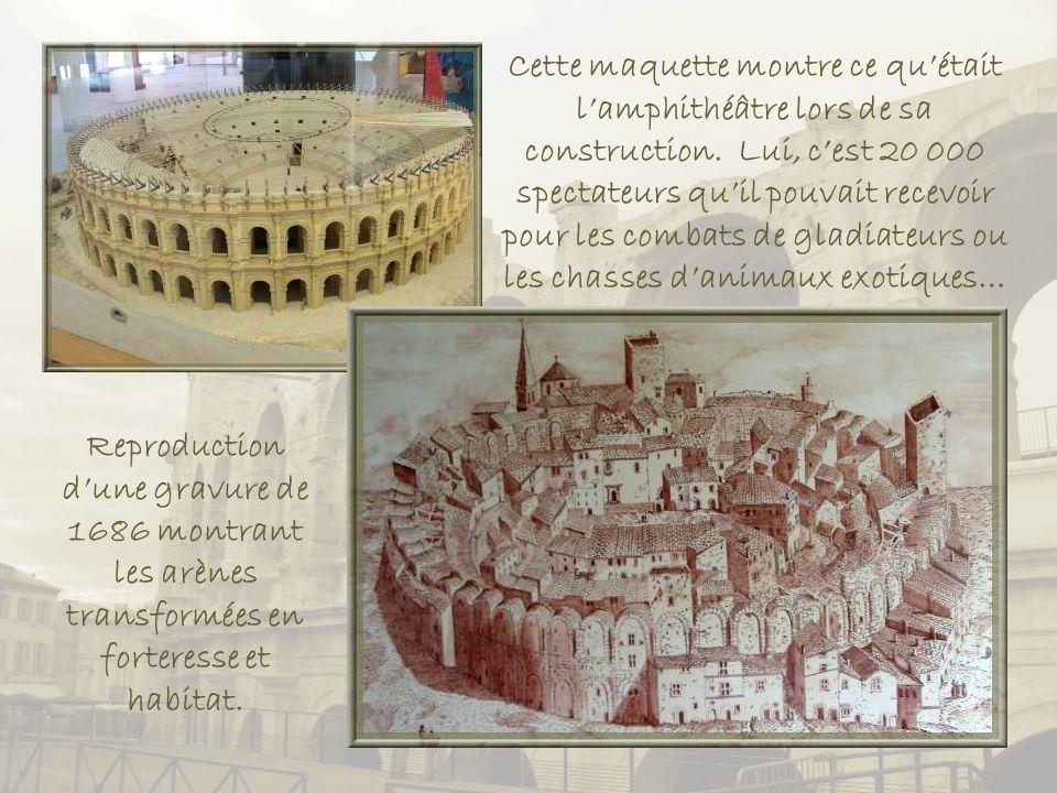 Lamphithéâtre fut construit à la fin du Ier siècle, lors de lagrandissement de la ville.