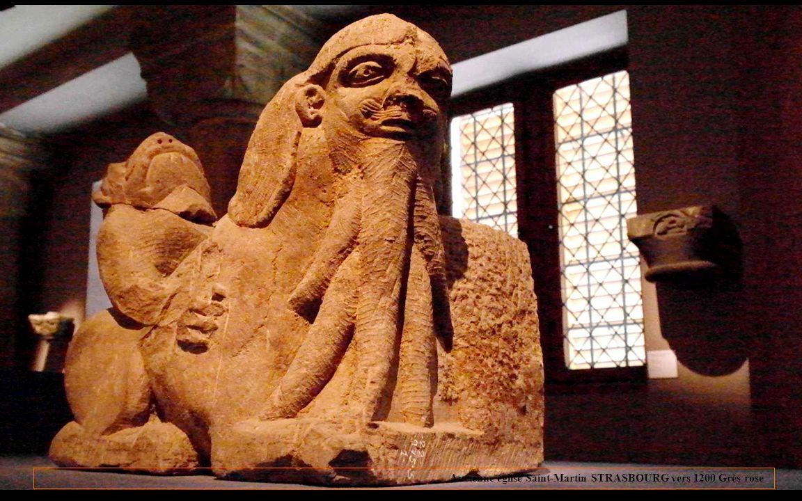 Lemblème des œuvres de Notre-Dame: Un calvaire stylisé