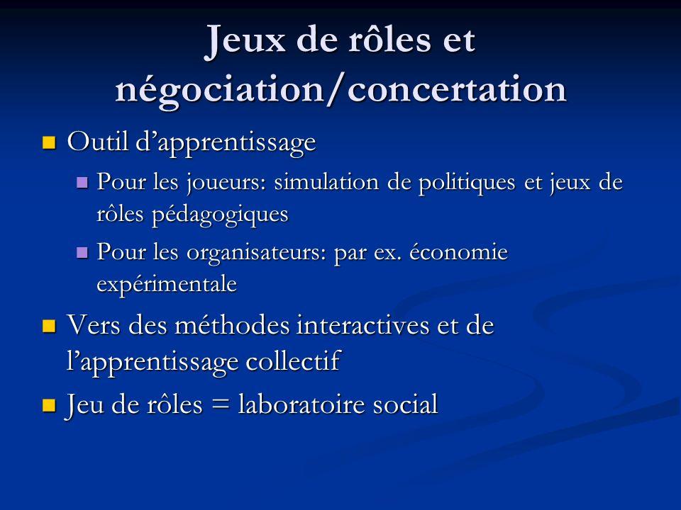 Points communs SMA/JDR