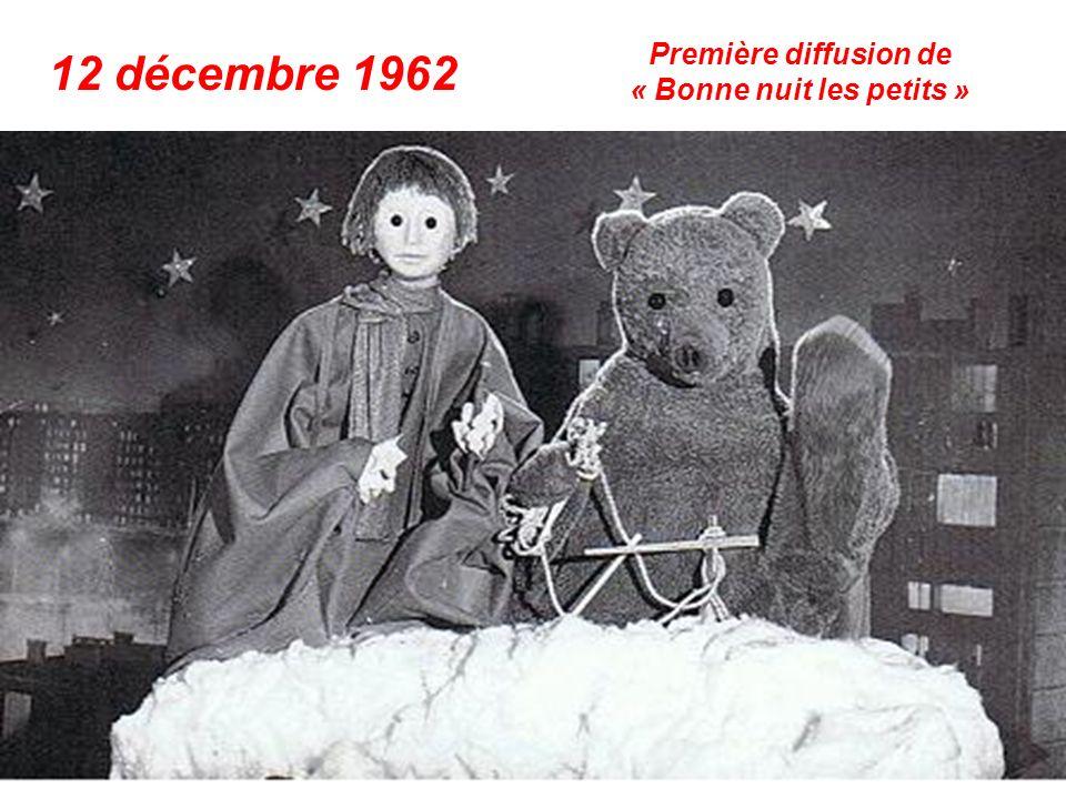 octobre 1962 Claude François chante « Belles, belles, belles »