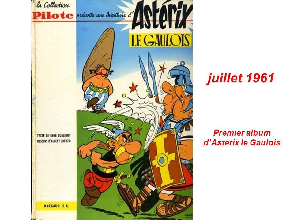 Premier album dAstérix le Gaulois juillet 1961