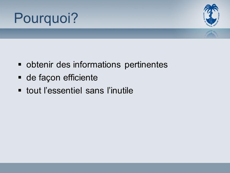 Type dinformation recherchée 1.Informations générales Livres, articles de synthèse 2.