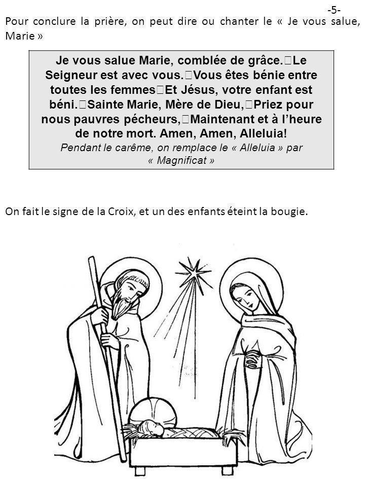 L E S AMEDI Au Nom du Père, et du Fils, et du Saint-Esprit.