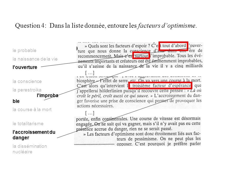 Question 5: S agit-il d un exemple ou d une preuve .