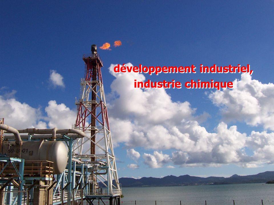 développement industriel, industrie chimique