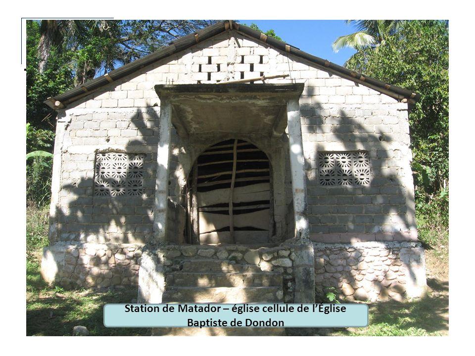 Station de Matador – église cellule de lÉglise Baptiste de Dondon