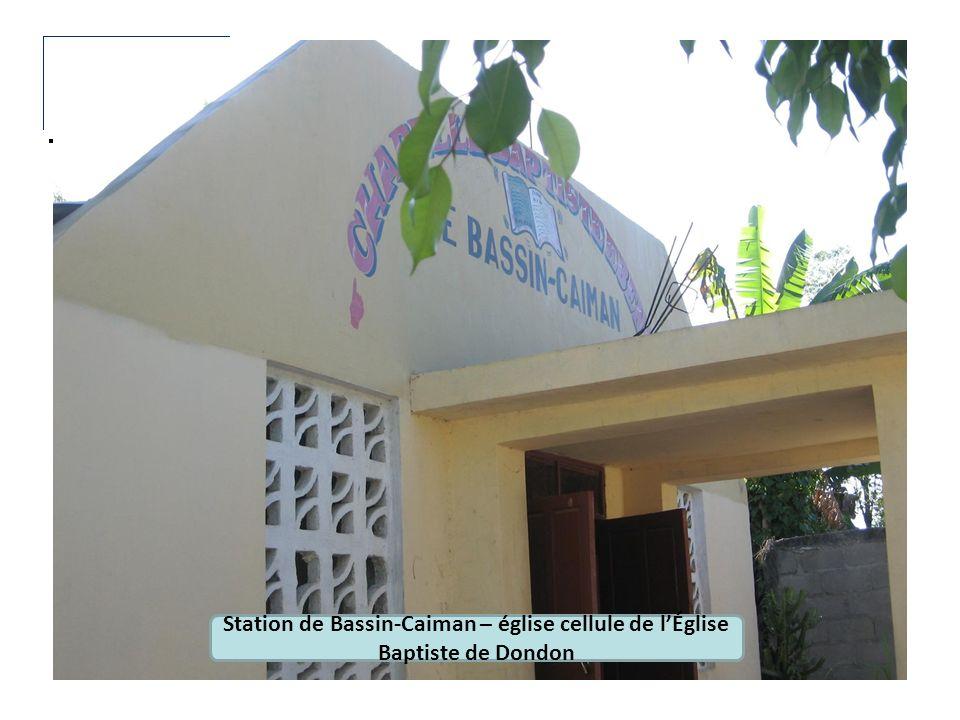 Station de Bassin-Caiman – église cellule de lÉglise Baptiste de Dondon