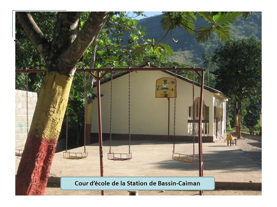Cour décole de la Station de Bassin-Caiman