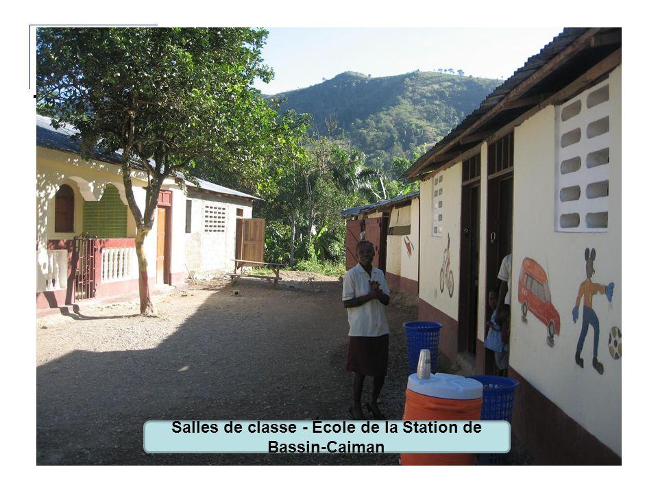 Salles de classe - École de la Station de Bassin-Caiman