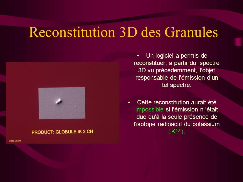 Auto Radiographie 3D Lanalyse par ordinateur de lauto radiographie permet de représenter la densité de limpact par une vue tri- dimensionnelle. Les pi