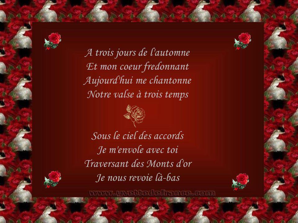 Notre Aria au passé Poème Écrit par Liliane Scotto *** Mis en page Par Yvette De France