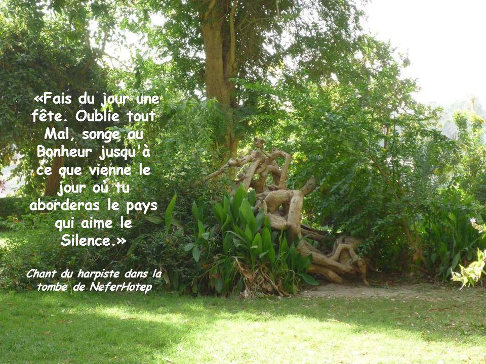 «Ne permets point que le pauvre et le vieillard soient rudoyés par le geste et la parole.» Aménémopé
