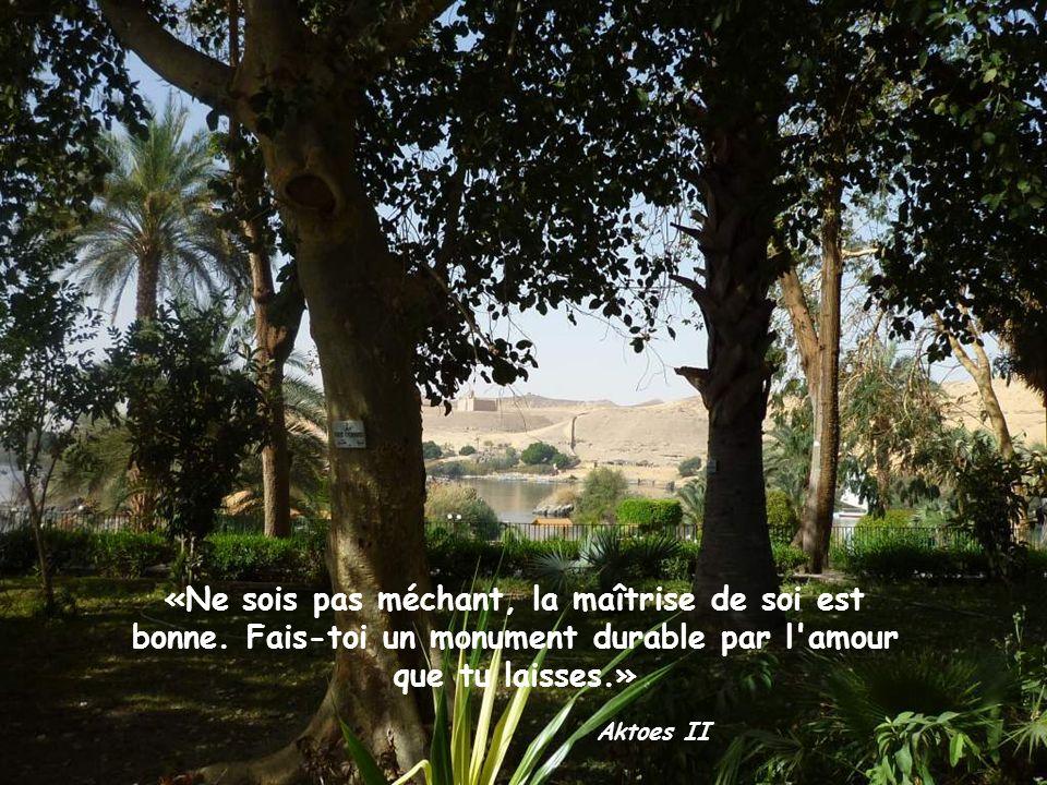 «Apprends auprès de celui qui est ignorant comme avec le Savant.» Ptah-hotep