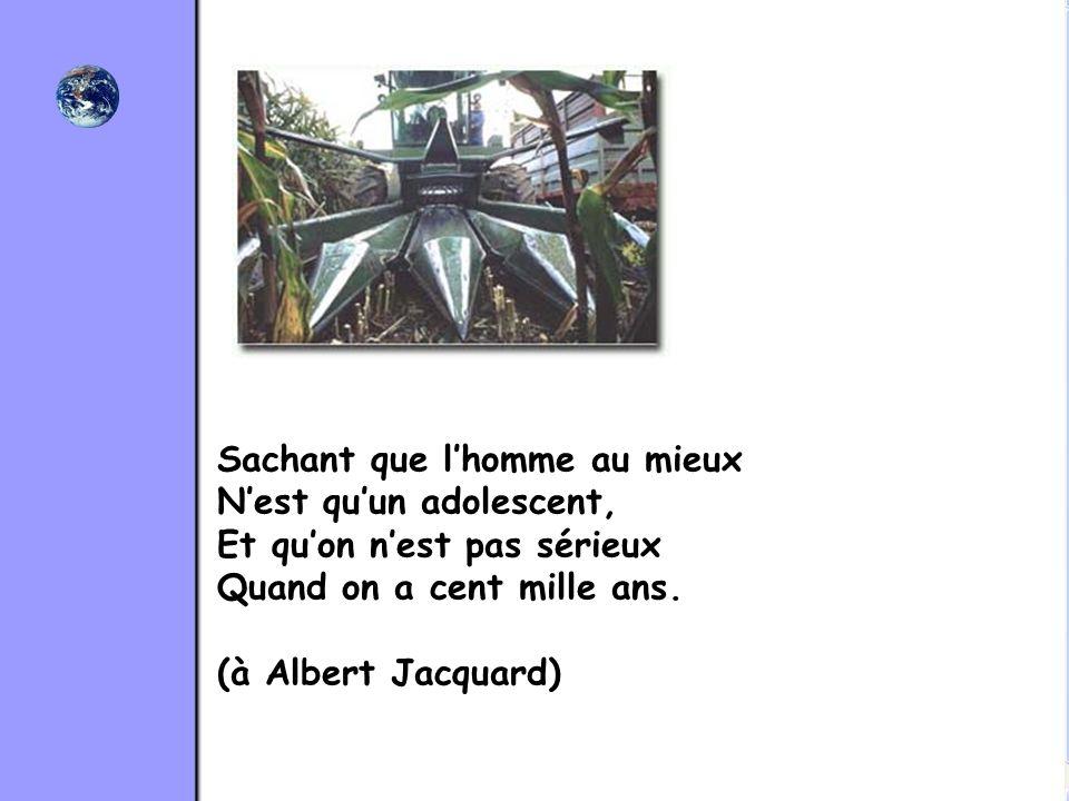 Texte: Philippe Thivet (31/12/2001) Musique : Pascal Garry Extrait de lalbum « Vents de terre »