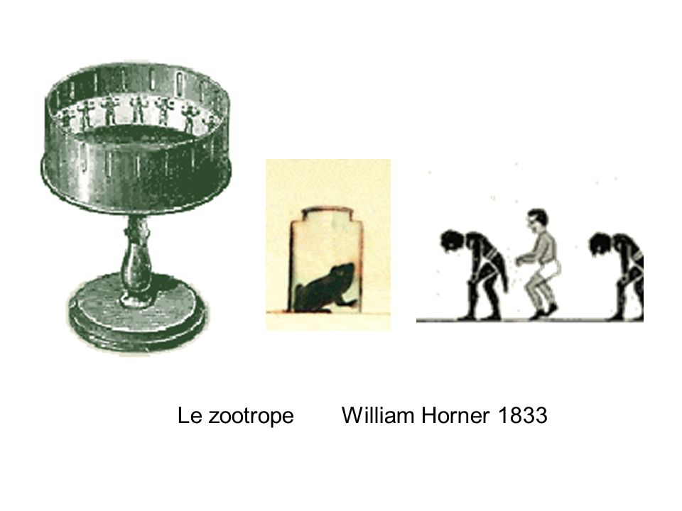 Le zootrope William Horner 1833