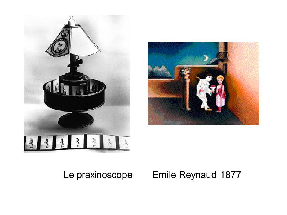 Le praxinoscope Emile Reynaud 1877