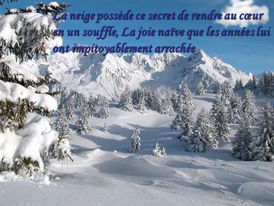 Amoureux est celui qui, en courant dans la neige, Ny laisse pas la trace de ses pas.
