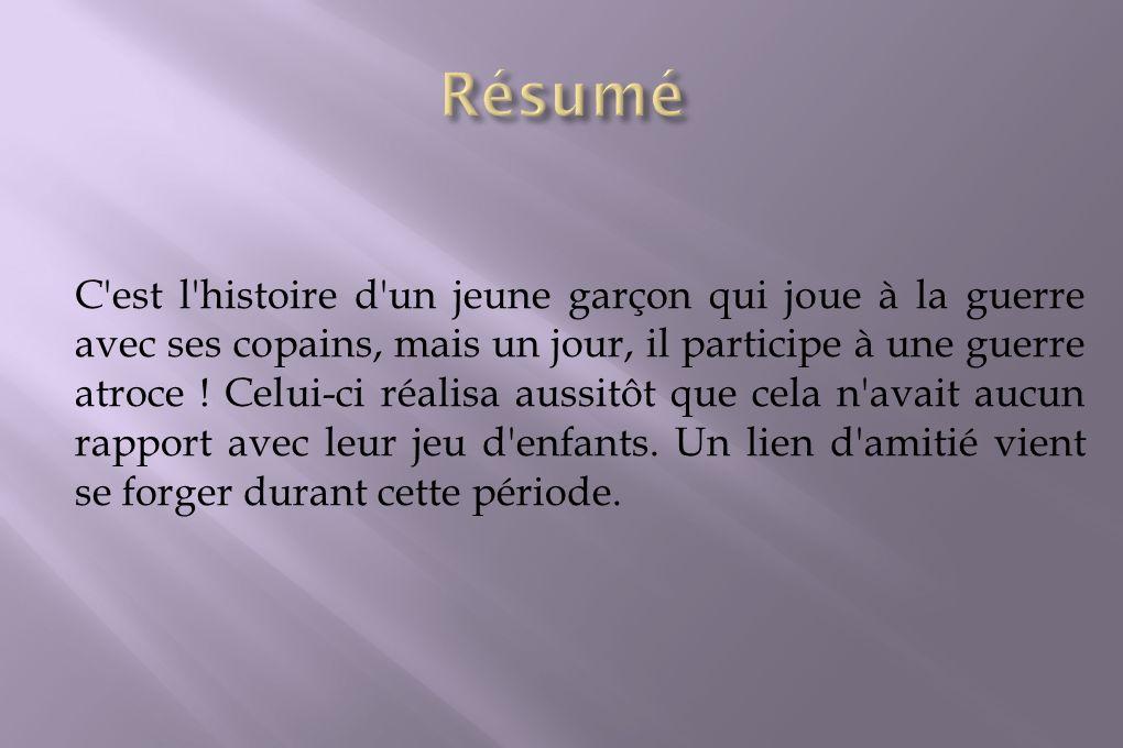 Le personnage principal, c est à dire celui qu on suit durant l histoire, se nomme Casimir Desforges, 362ème régiment d infanterie, 20ème compagnie.