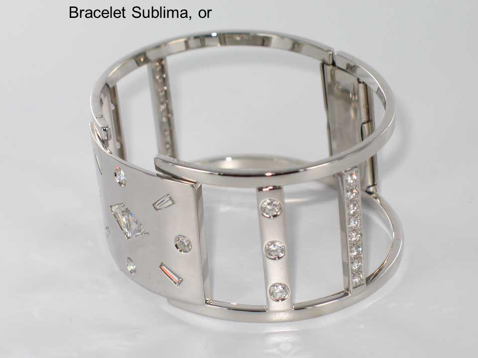 Bracelet Sublima, or