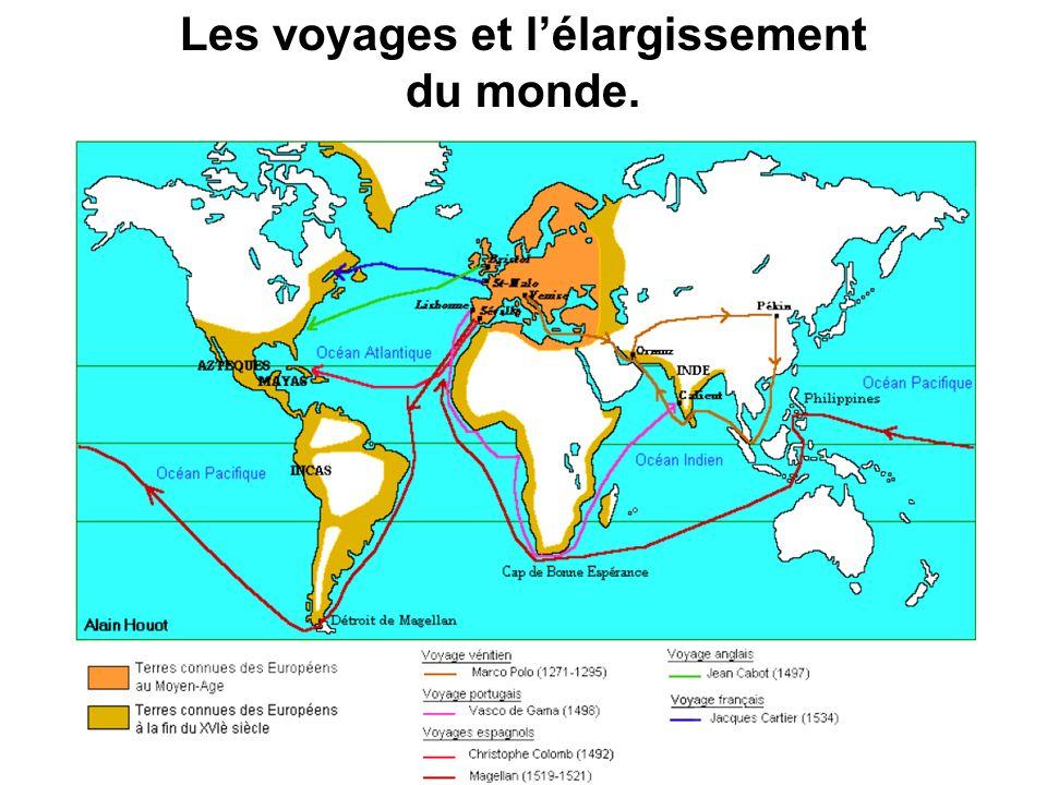 Les voyages et lélargissement du monde.