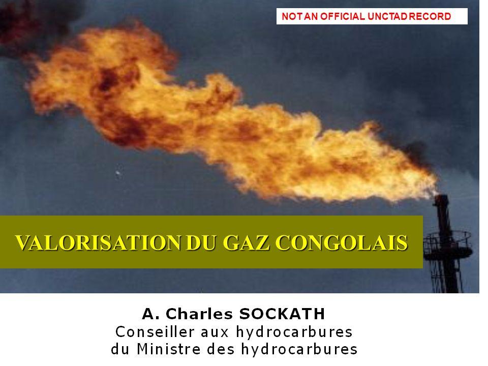 A. C. Sockath1 VALORISATION DU GAZ CONGOLAIS NOT AN OFFICIAL UNCTAD RECORD
