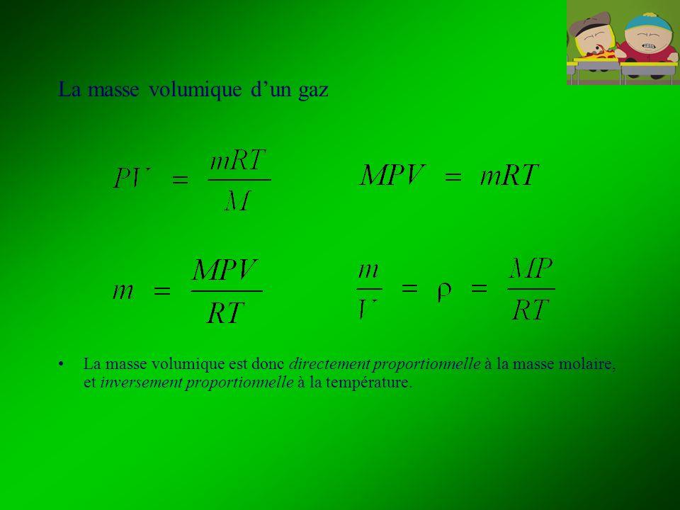 4.10 Les mélanges gazeux : la loi des pressions partielles de Dalton La loi daddition des pressions partielles de Dalton stipule que, dans un mélange gazeux, chaque gaz se dilate de manière à remplir le contenant et exerce une pression qui lui est propre.