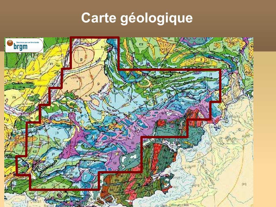 Carte géologique